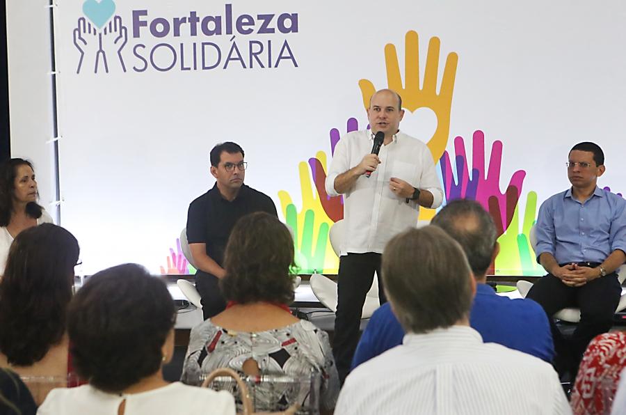 Anúncio do Programa Fortaleza Solidária 09 04 2019 Crédito Marcos Moura 4